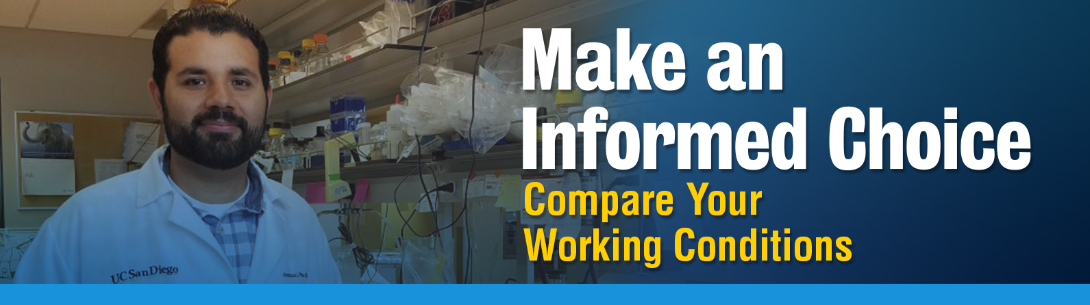 Working Conditions Comparison Chart | Academic Researchers